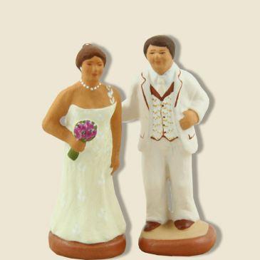image: Mariés contemporains (blanc)