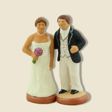 image: Bride and groom (black)