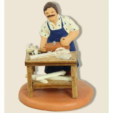 image: Woodworker - carpenter