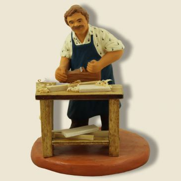 image: Woodworker - carpenter