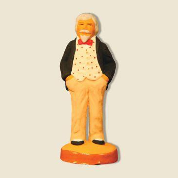 "image: Bowls player : The Spectator ""Monsieur Brun"""