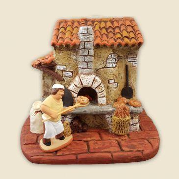Boulanger et son fournil 6 cm