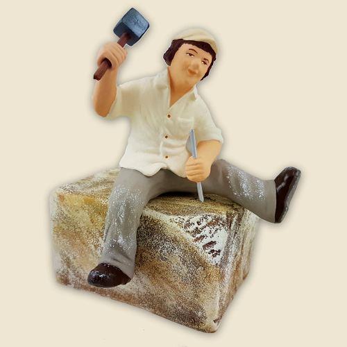 Tailleur de pierre 13 cm