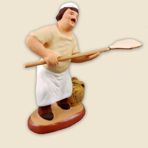 Boulanger au fournil 9 cm