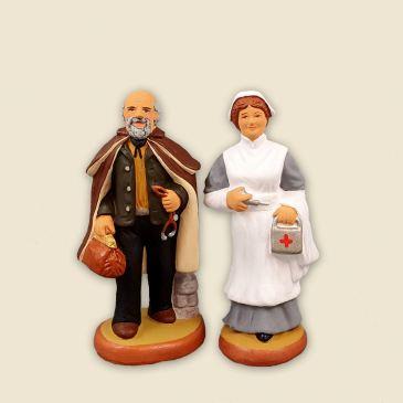 Médecin de campagne / Infirmière 6 cm