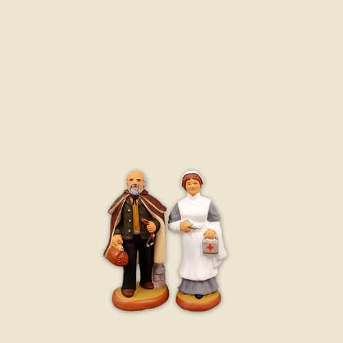 Doctor and Nurse 4 cm