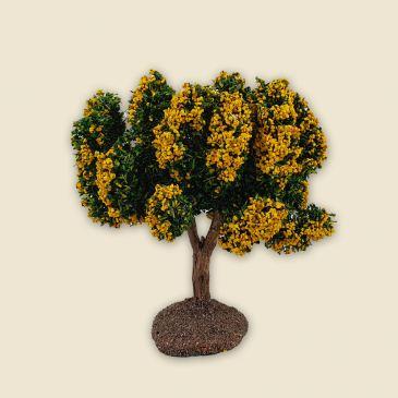 Arbre fleuri jaune