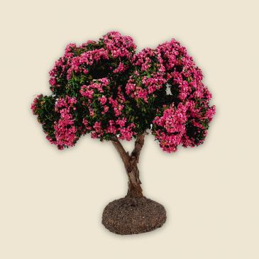 Tree with pink flowers