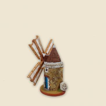 image: Moulin perpective hauteur 12cm (argile)