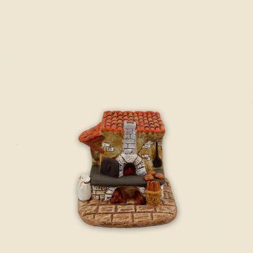 Fournil du boulanger 4 cm (plâtre)