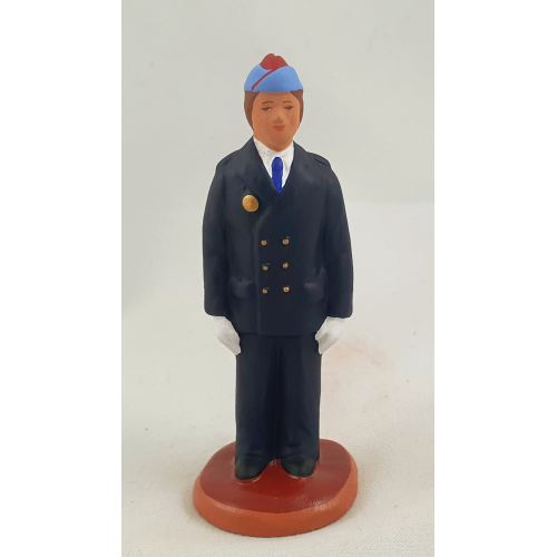 Young man from the Military scool Aix 9 cm