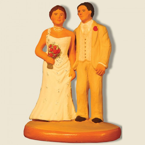 image: Bride and groom (beige)