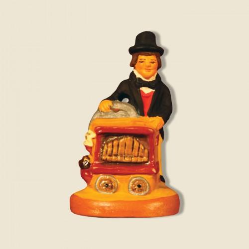 image: Street organ player
