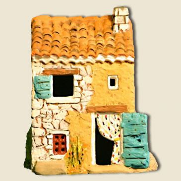 Small country house (all clay)