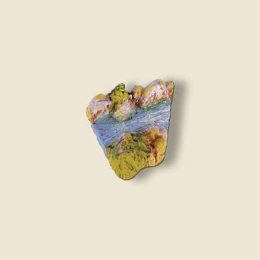 Coude rivière 30° (portion) plâtre haute densité)