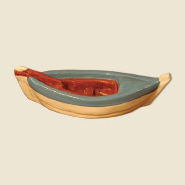 Barque du pêcheur (argile) bleue