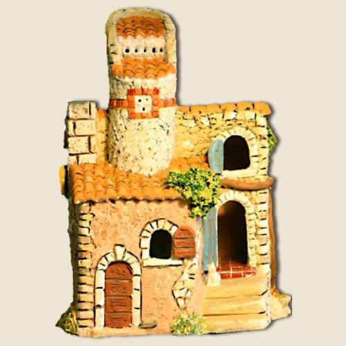 image: House with circular dovecote