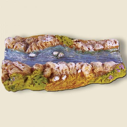 image: Rivière droite (portion) plâtre haute densité