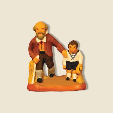 image: Aveugle et son fils