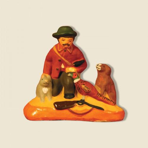 image: Chasseur au bon coeur assis