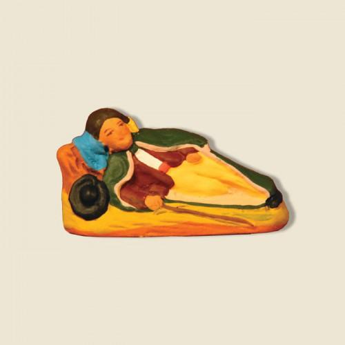 image: Sheperd lying down