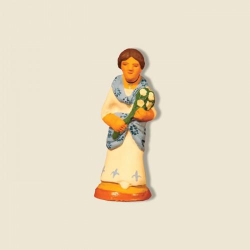 image: Dame aux fleurs de lys