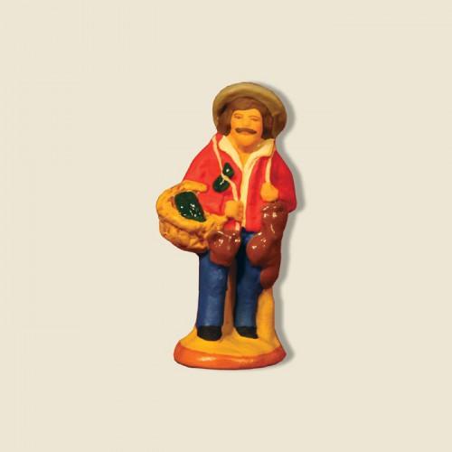 image: Pottery salesman