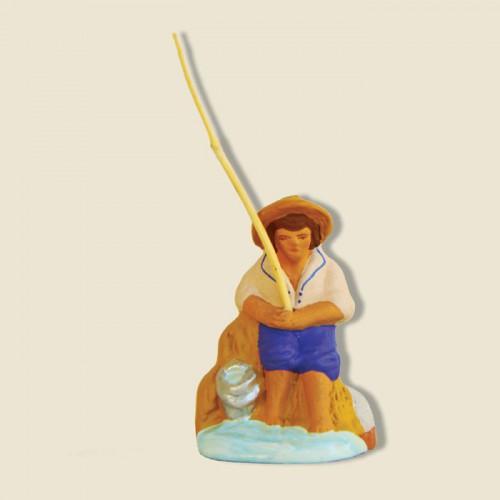 image: Pêcheur assis