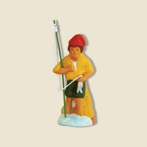 image: Fisherman standing