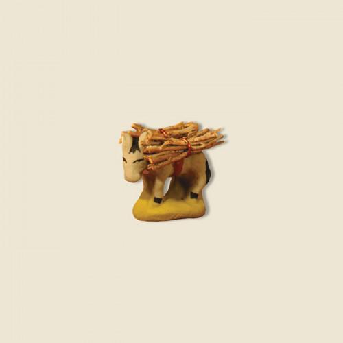 image: Ane du fermier avec fagot