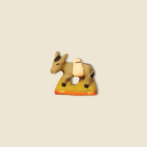 image: Ane meunier avec sac de farine