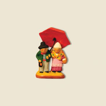 Couple parapluie 2 cm