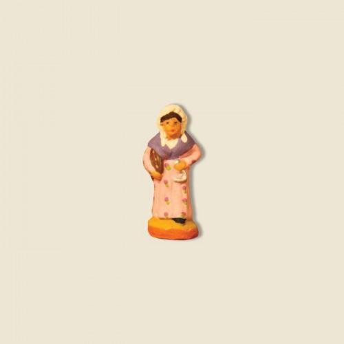 image: Dame au caléu et à la pompe à l'huile