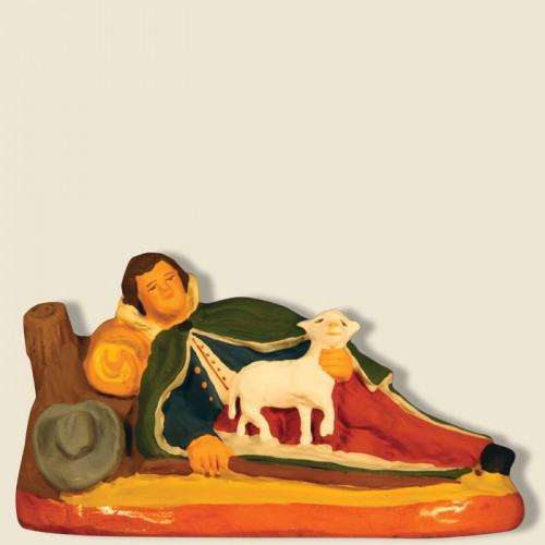 image: Shepherd lying