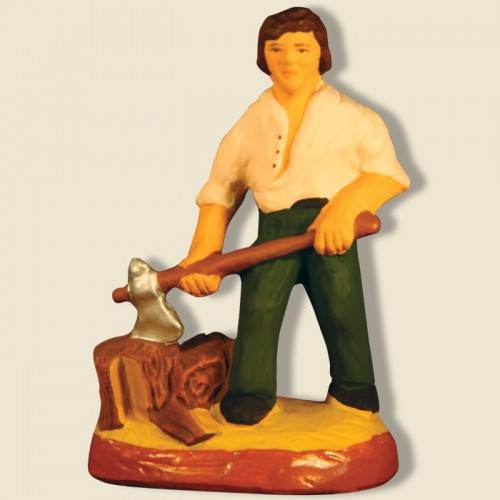 image: Woodcutter (green)