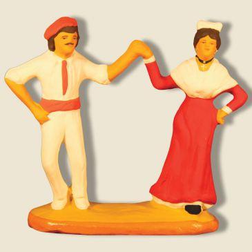 image: Couple dancing the farandole