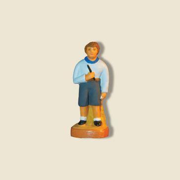image: Garçon au jouet (flûte)