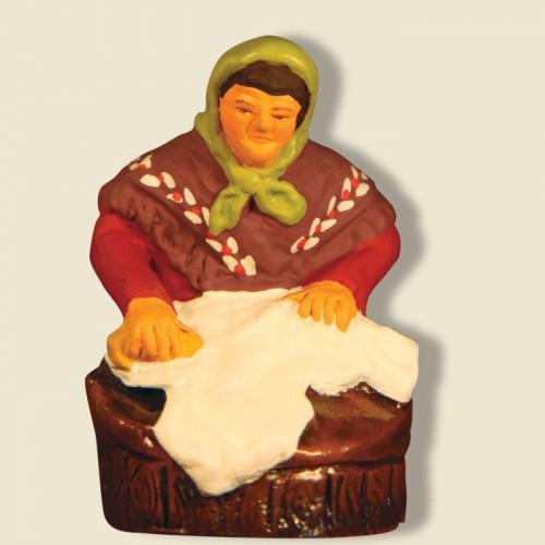 image: Laveuse à genoux
