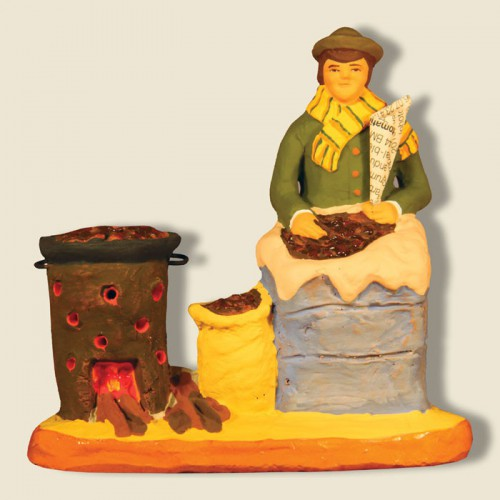 image: Chestnuts seller