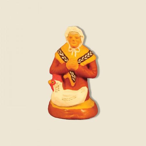 image: Woman kneeling in prayer