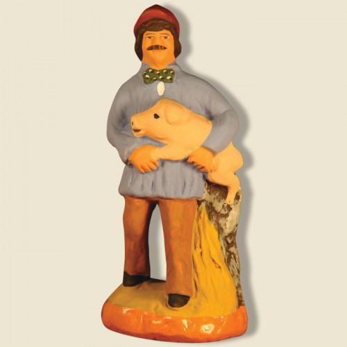 image: Paysan avec cochon
