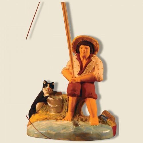 image: Pêcheur et son chat