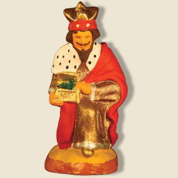 Roi mage à genoux Balthazar 9 cm