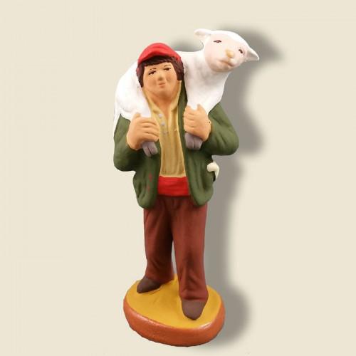 image: Valet avec un mouton
