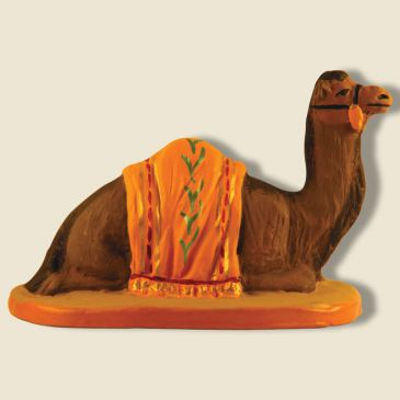 Dromedary lying (yellow) 9 cm