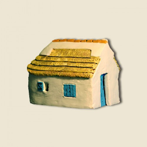 image: Cabane de gardian (argile)