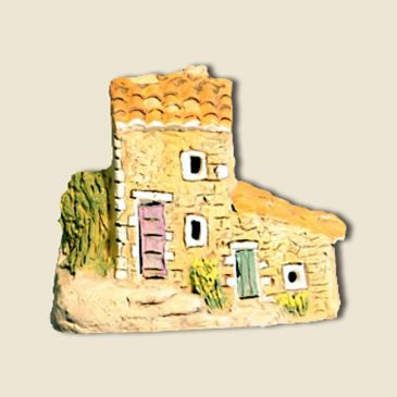 Country cottage Bibemus (all clay)