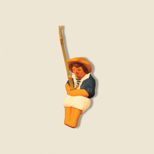 image: Pêcheur calanque pour asseoir